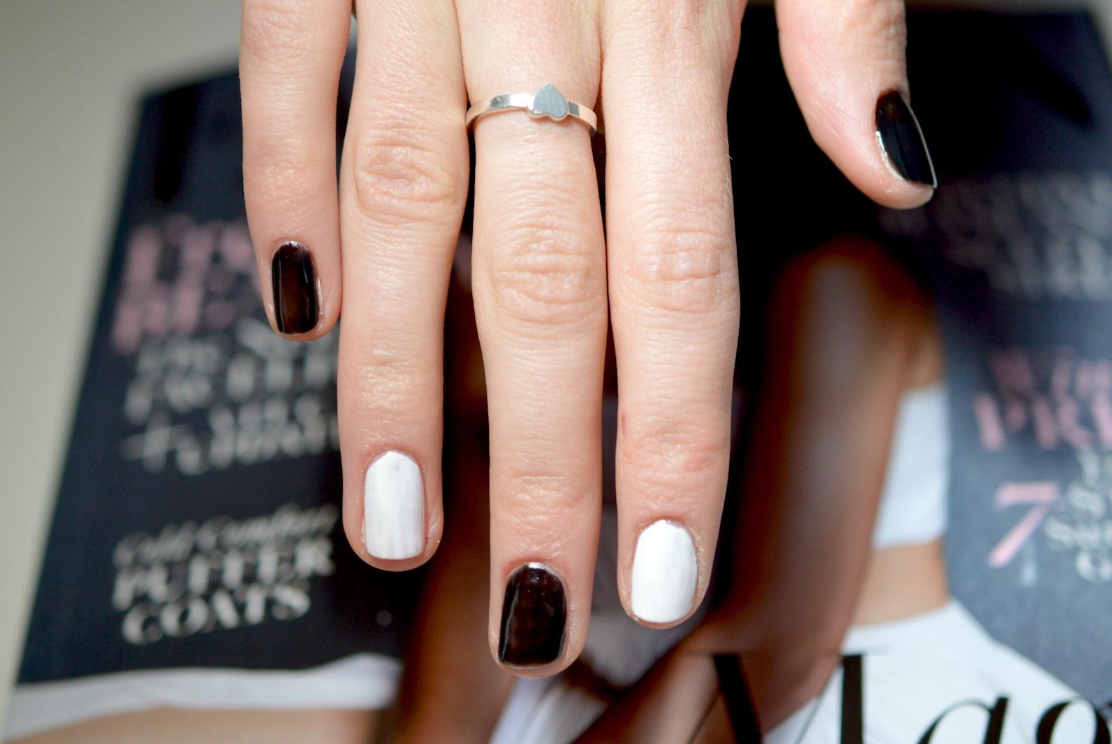 spooky manicure