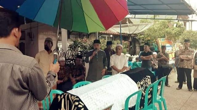 M Fikar Datuk Rajo Magek Lepas Jenazah Rasidin Rasyid, Ketua Muhammadiyah Ranting Rimbo Tarok