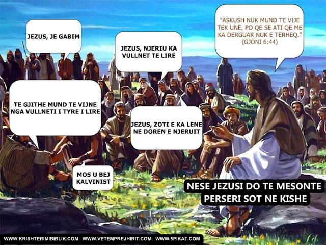 Jezusi, Vullneti i lire,