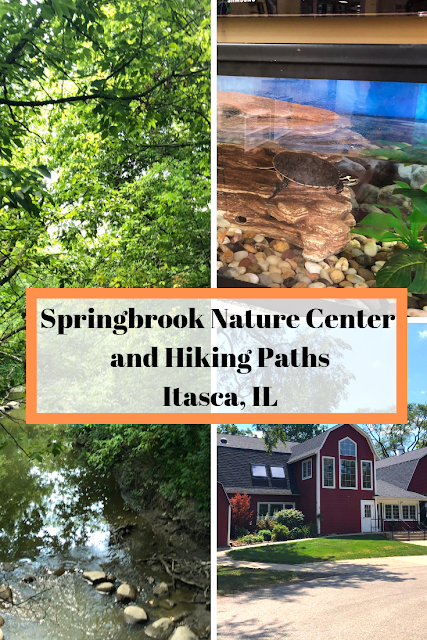 Springbrook Nature Center and Hiking Paths in Itasca, IL