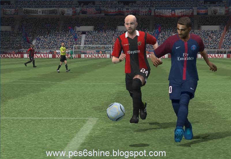 PES 6 Shine Option File 2017-2018: Premier League, Serie A