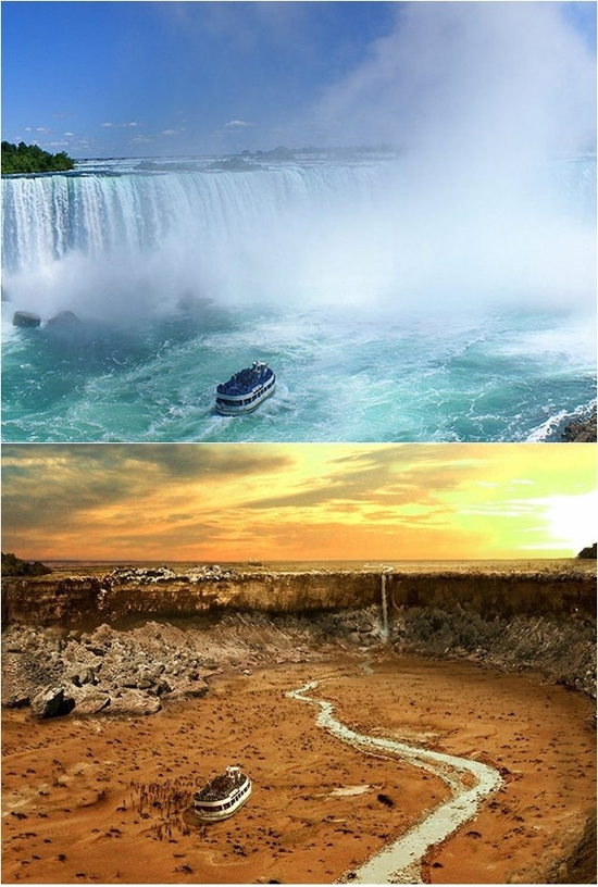 Aquecimento global by Joel Krebs - Cataratas Niagara - Canada
