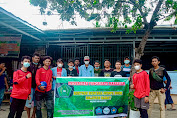 Peduli Gempa, Mahasiswa Unpacti Makassar Serahkan Bantuan Dana