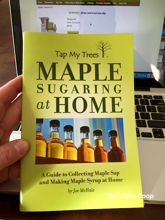 "Tap My Trees ""Maple Sugaring Starter Kit"" - Kevin's review"