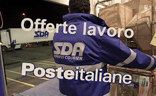 adessolavoro - Poste Italiane pubblica la ricerca di personale per SDA Express Courier
