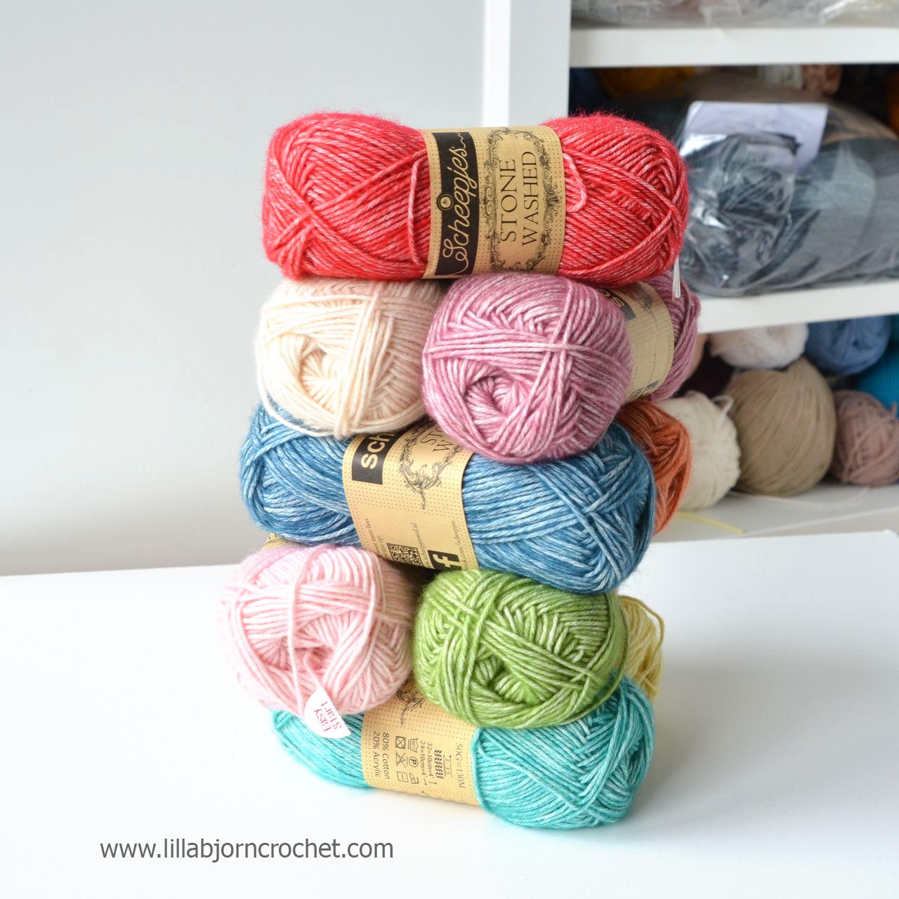 Stone Washed yarn by Scheepjes is my favourite