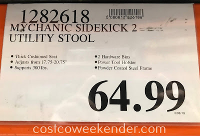 Deal for the Mychanic SK2 Utility Stool at Costco