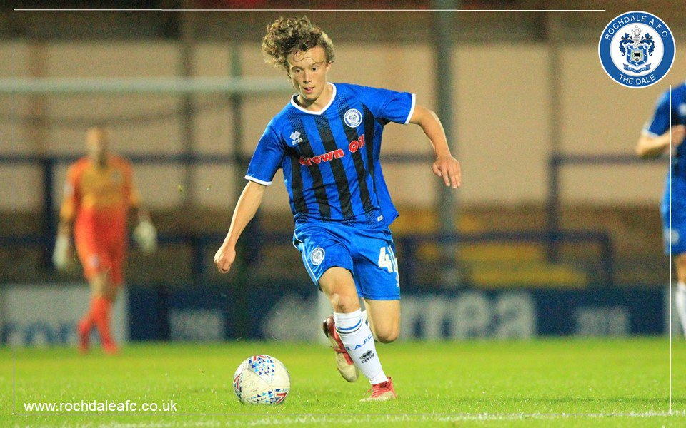 Luke Matheson goes back to school then wins man of the match on Rochdale debut