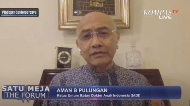 Dokter Sebut Kematian Anak akibat Corona di Indonesia Tinggi di Asia, Imbau Sekolah Dibuka Desember