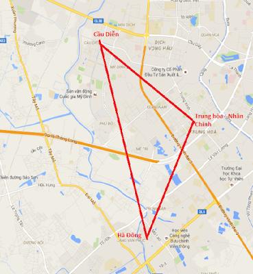 """Nguồn cung căn hộ cực lớn tại khu """"tam giác vàng"""" thị trường BĐS Hà Nội"""