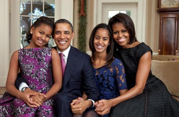 famille-obama