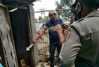 Tim Inafis Polres Bima Olah TKP Kasus Dugaan Pencabulan di Dusun Kacamba Desa Doridungga