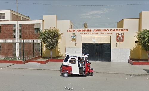 Colegio ANDRES AVELINO CACERES - Chincha Alta