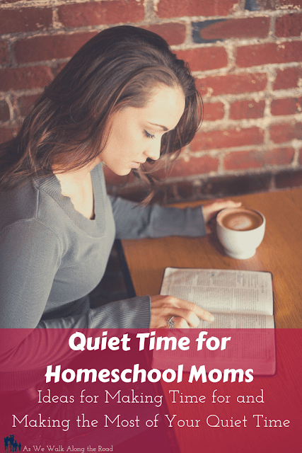 Quiet time for homeschool moms