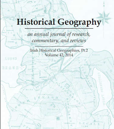 Historical Geography an annual journal of research, commentary, and reviews