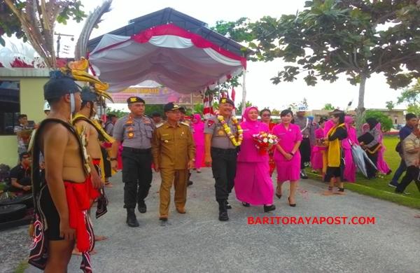 Kapolda Kalteng Lanjutkan Giat Kunjungan Kerja ke Polres Katingan