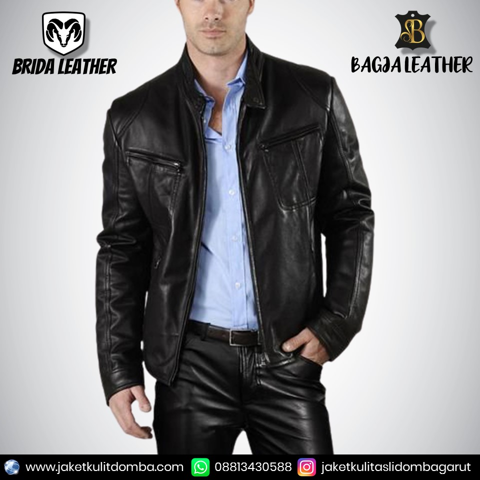 jual jaket kulit pria online