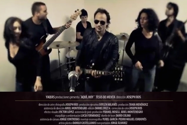 Tesis de Menta - ¨Aquí, Hoy¨ - Videoclip - Dirección: Joseph Ros. Portal Del Vídeo Clip Cubano