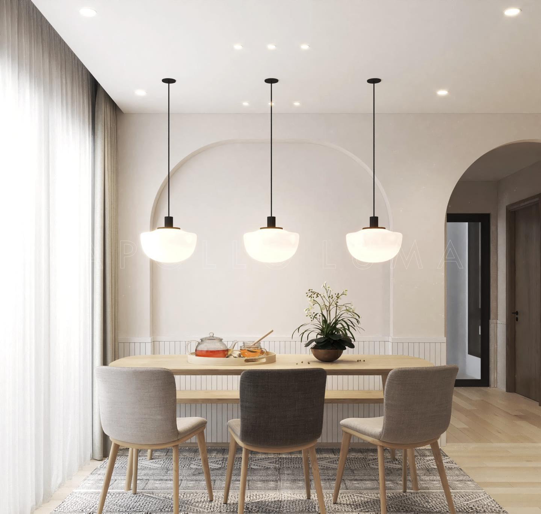 Thiết kế nội thất căn hộ Vinhomes Smart City căn hộ 55m2 (2PN+1)