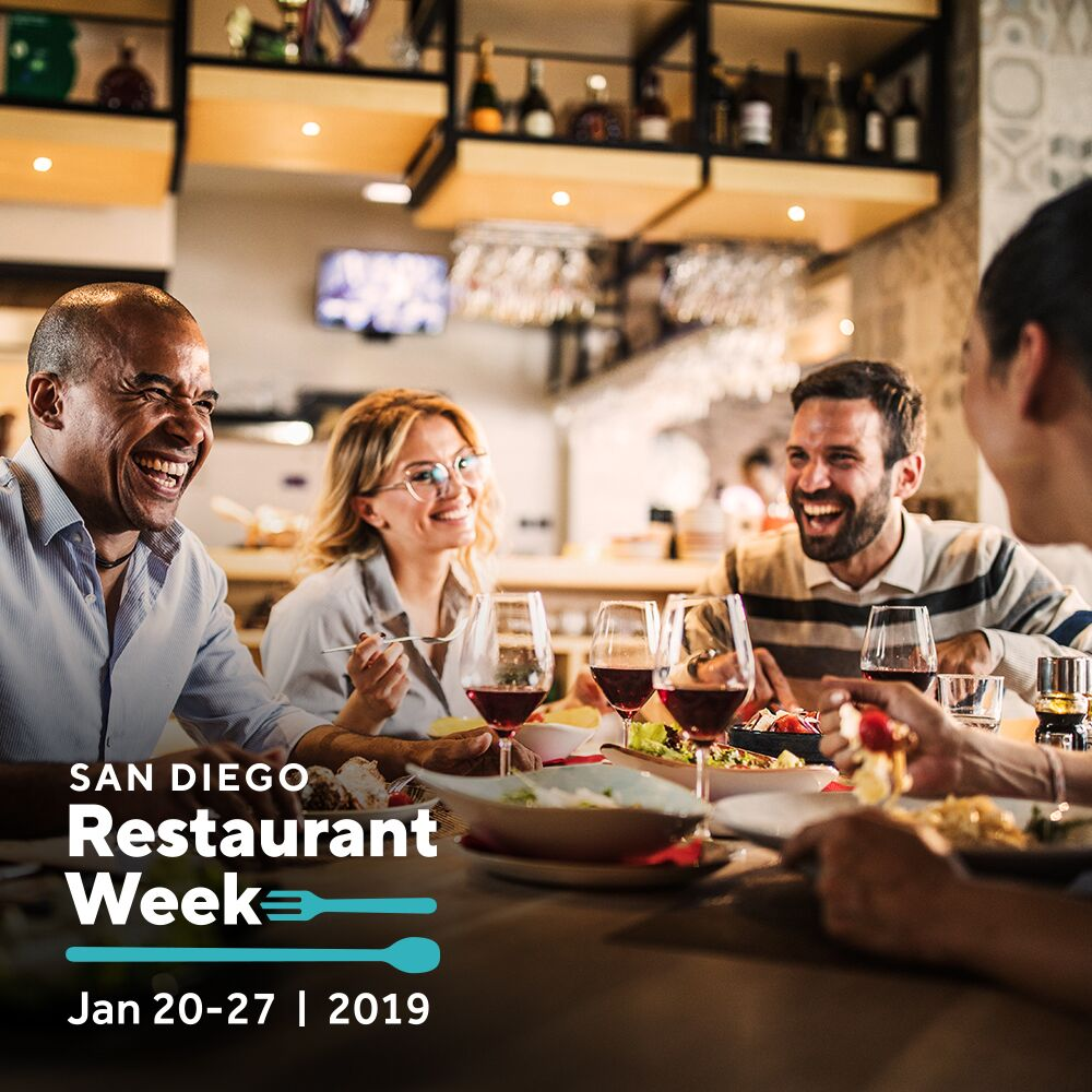 San Diego Restaurant Week Returns This January 20-27!!!