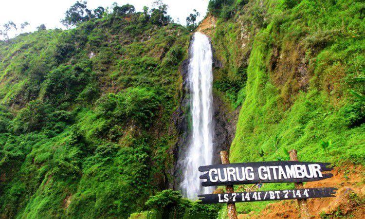 Curug Citambur, Wisata Air Dengan Pemandangan Eksotis di Cianjur