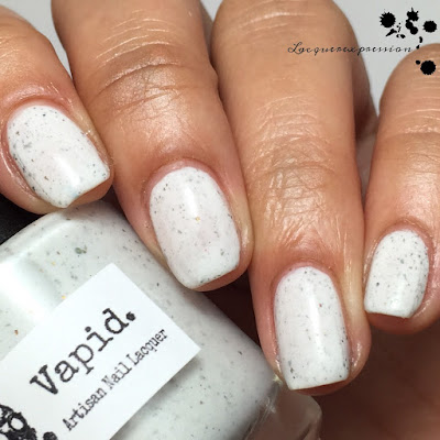 Nail polish swatch of Snow Fox by Vapid