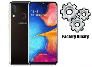 Samsung Galaxy A20e SM-A202F Combination Firmware