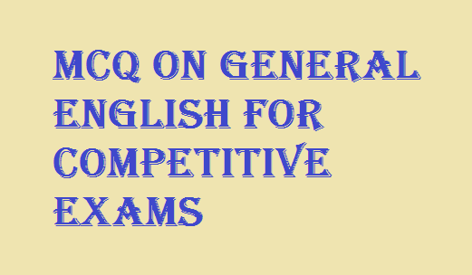 General English mcq with answers pdf Download – Bengali Reader
