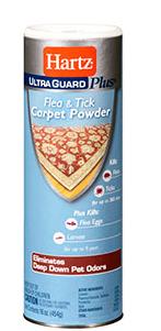 Ultra Quard Plus Flea and Tick Carpet Powder by Hartz