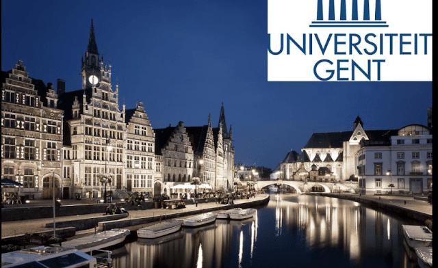 منحة مقدمة من جامعة جنت لدراسة الدكتوراه في القانون الدولي في بلجيكا (ممولة بالكامل )