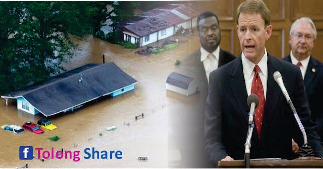 Pastor AS Bilang Banjir Dahsyat di Louisiana Adalah Hukuman Tuhan untuk Kaum LGBT