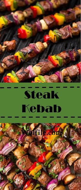 Steak Kebab #dinner