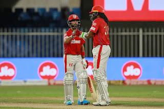 KXIP vs KKR 46th Match IPL 2020 Highlights