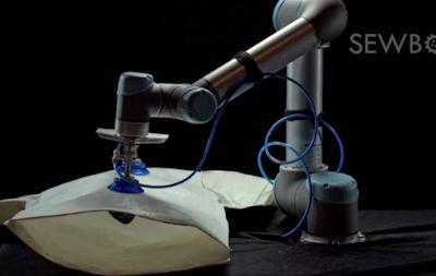 Έφτιαξαν ρομπότ που ράβει και φτιάχνει ρούχα