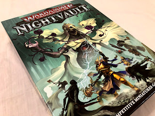 The beautifully illustrated box for Warhammer Underworlds: Nightvault