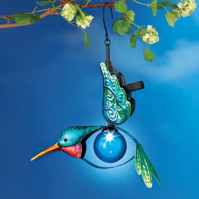 Solar Powered Hummingbird