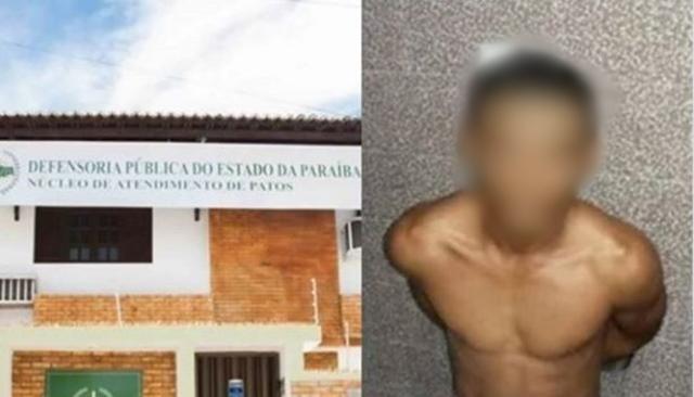Defensoria Pública consegue prisão domiciliar de homem com HIV e diabetes em Patos