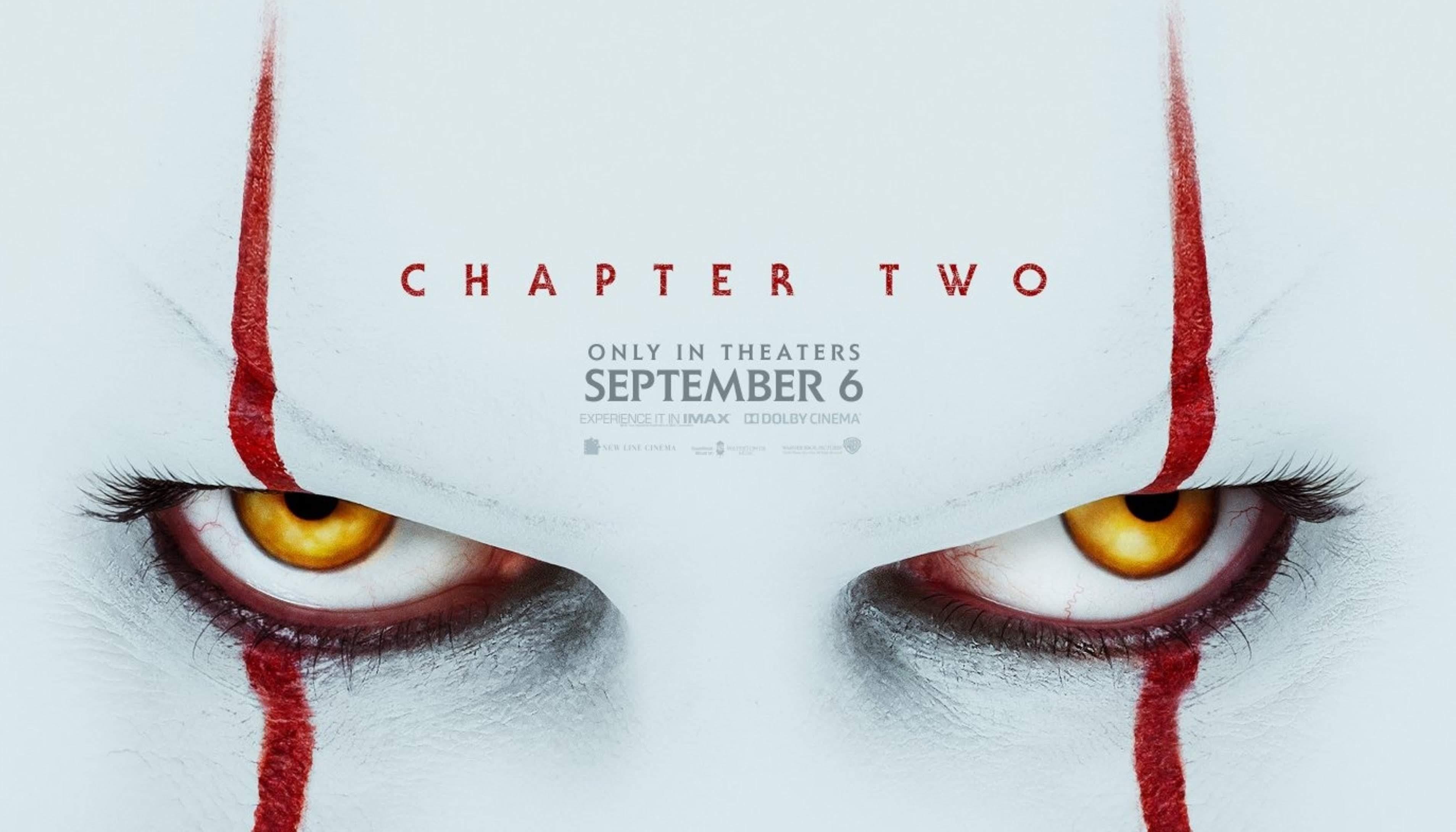 Stephen King's It: Chapter Two : スティーヴン・キング原作のホラー映画史上最大ヒット作「It(イット)」の続編「チャプター 2」が、新しい予告編の解禁に先がけて、恐怖のピエロをフィーチャーしたポスターをリリース ! !