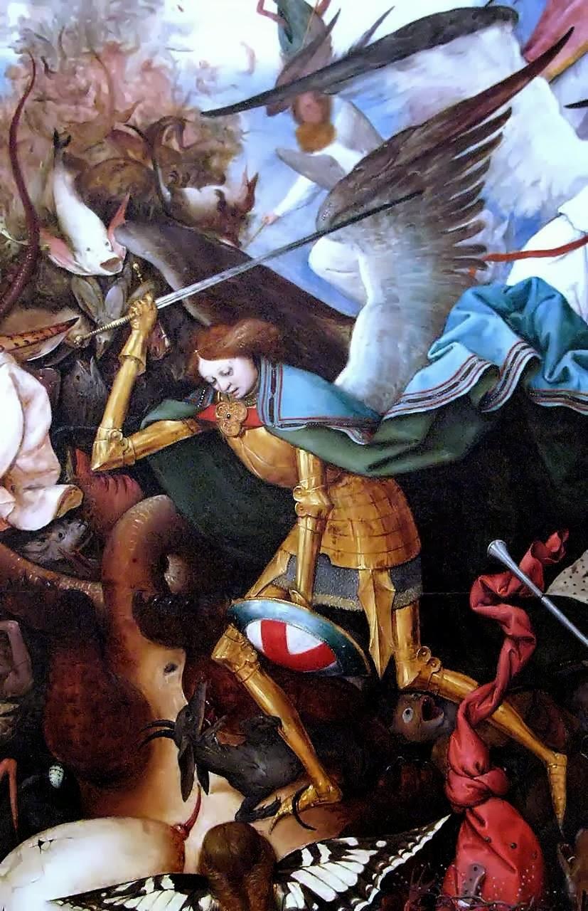 Queda dos anjos rebeldes Pieter Bruegel o velho (1525-1569) Royal Museums of Fine Arts, Bruxelas, detalhe.