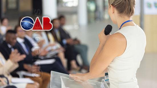 oab eventos 30 palestrantes mulheres direito