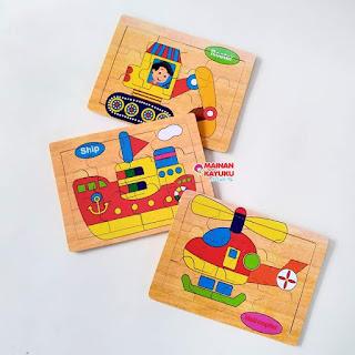 Puzzle Transportasi 03