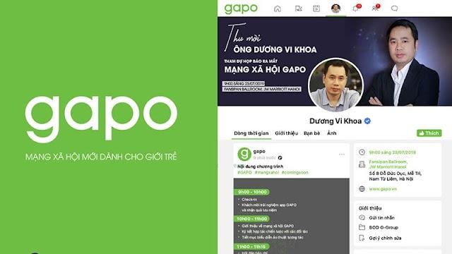 """Mạng xã hội """"made in Việt Nam"""" Gapo ra mắt, kỳ vọng cạnh tranh với Facebook"""