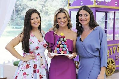 Maisa Silva, Beca e Carol. Crédito: Artur Igrecias/SBT