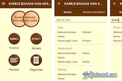 kamus bahasa dan aksara jawa