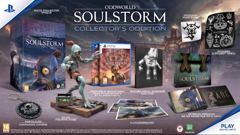 Oddworld Soulstorm - La mission d'Abe edition collector