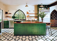 Wonderful green kitchen island ideas with sink and breakfast table also bar stool