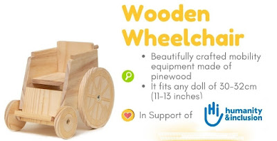 Dolls For All Wooden Wheelchair