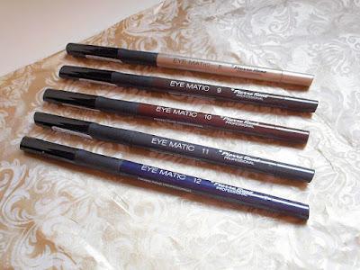 Cinco Nuevos Tonos de los Eye Matic de Pierre René Para Una Mirada Suave.