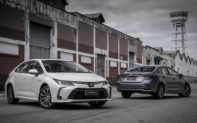 Novo Toyota Corolla 2020: fotos, preços e consumo - Brasil