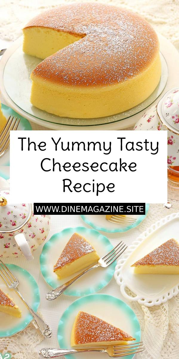 The Yummy Tasty Cheesecake – cotton soft, light, pillowy, the BEST cheesecake recipe EVER. Tried and tested, a MUST-BAKE for cheesecake lover! #cheesecake #cake #bestcheesecake #yummy #dessert #bestdessert #cheesecakerecipe #bestcheesecakerecipe